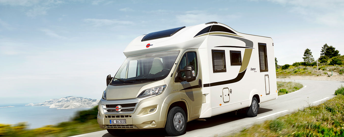 motorhome from the showroom