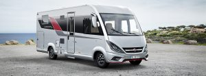 The Burstner Elegance - top of the range larger motorhome
